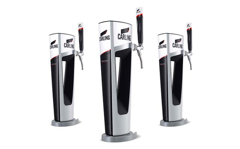 Carlsberg draft pump
