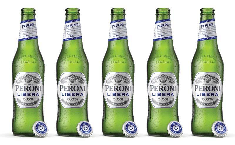 New for 2019: Peroni Libera 0.0%