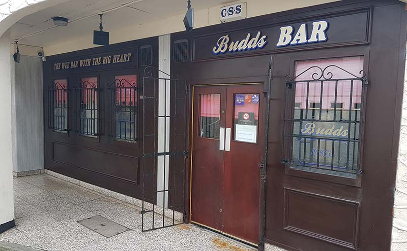You've got a friend in me: Budds Bar is said to be known for its friendly atmosphere