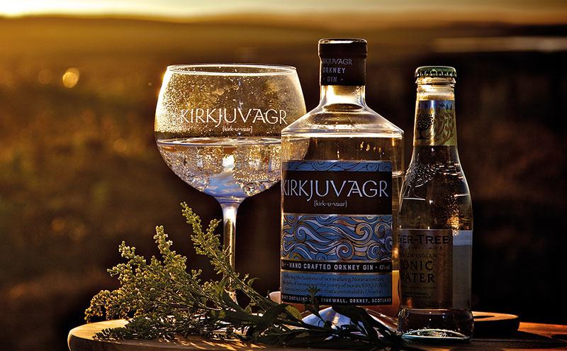 Kirkjuvagr Orkney Gin
