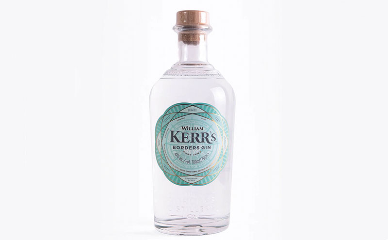 The new William Kerr's Borders Gin