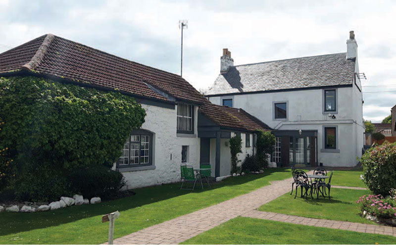 Part of the inn is over 400 years old