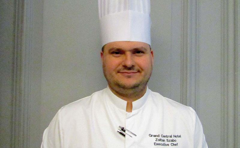 Szabo is now exec chef