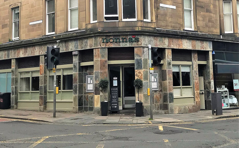 Nonna's Kitchen is situated in the south west of Edinburgh.