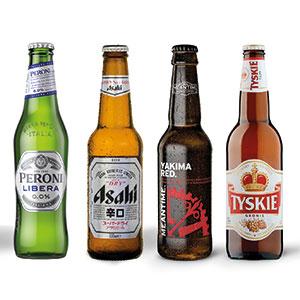 Asahi bottles