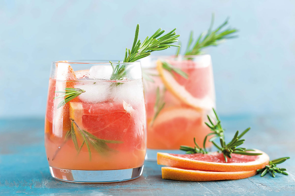 Gin-cocktails-with-rosemary