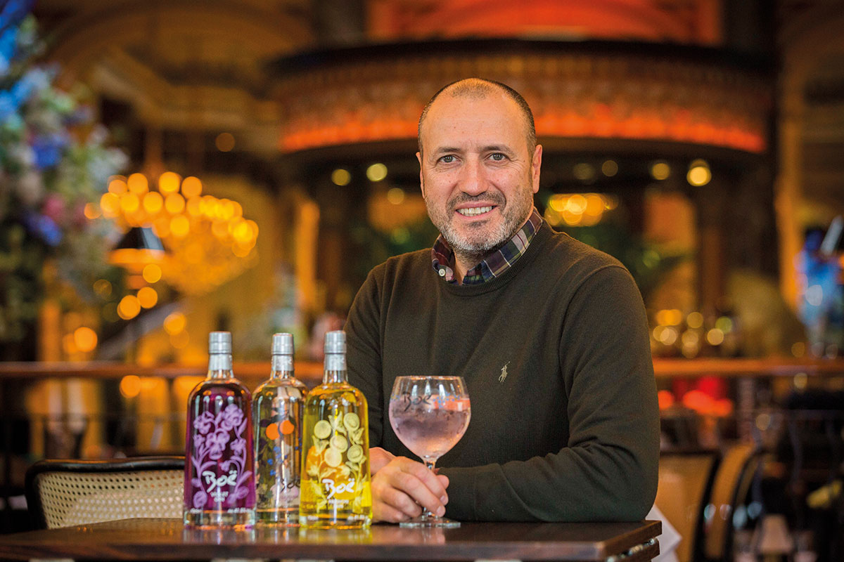 Carlo Valente, director of Boë Gin parent firm VC2 Brands