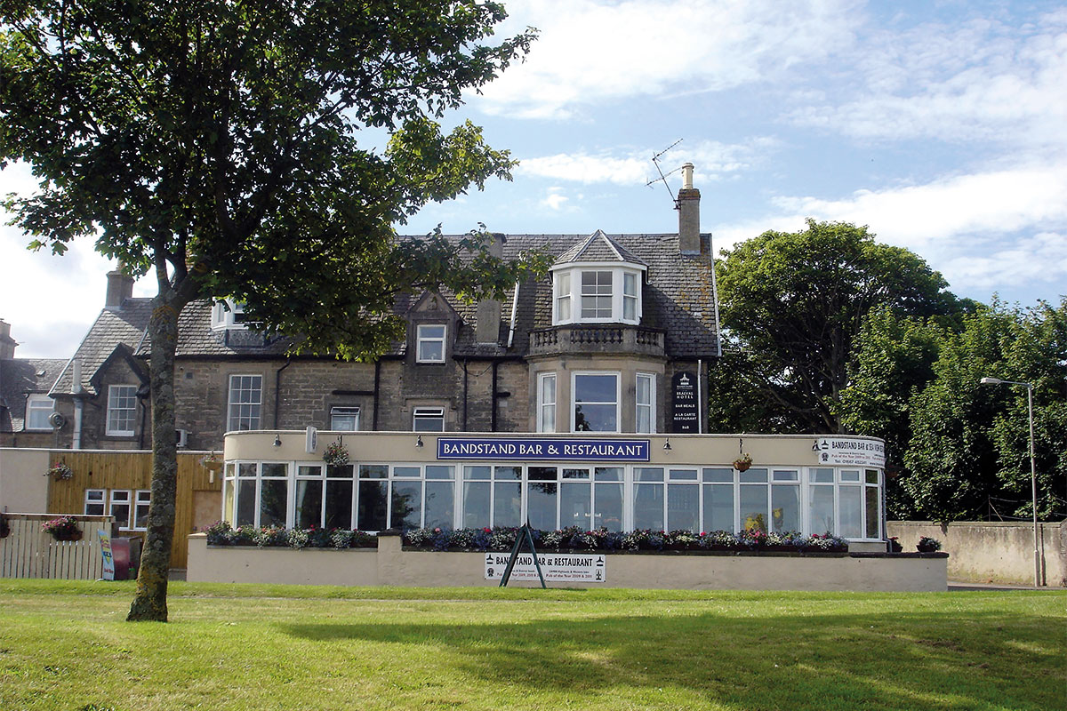 The Braeval Hotel and its award-winning Bandstand Bar & Restaurant