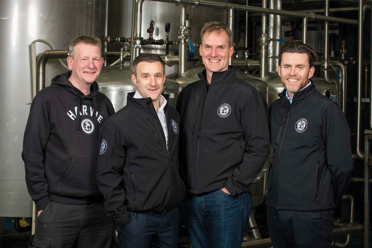 Brewers from Harvieston