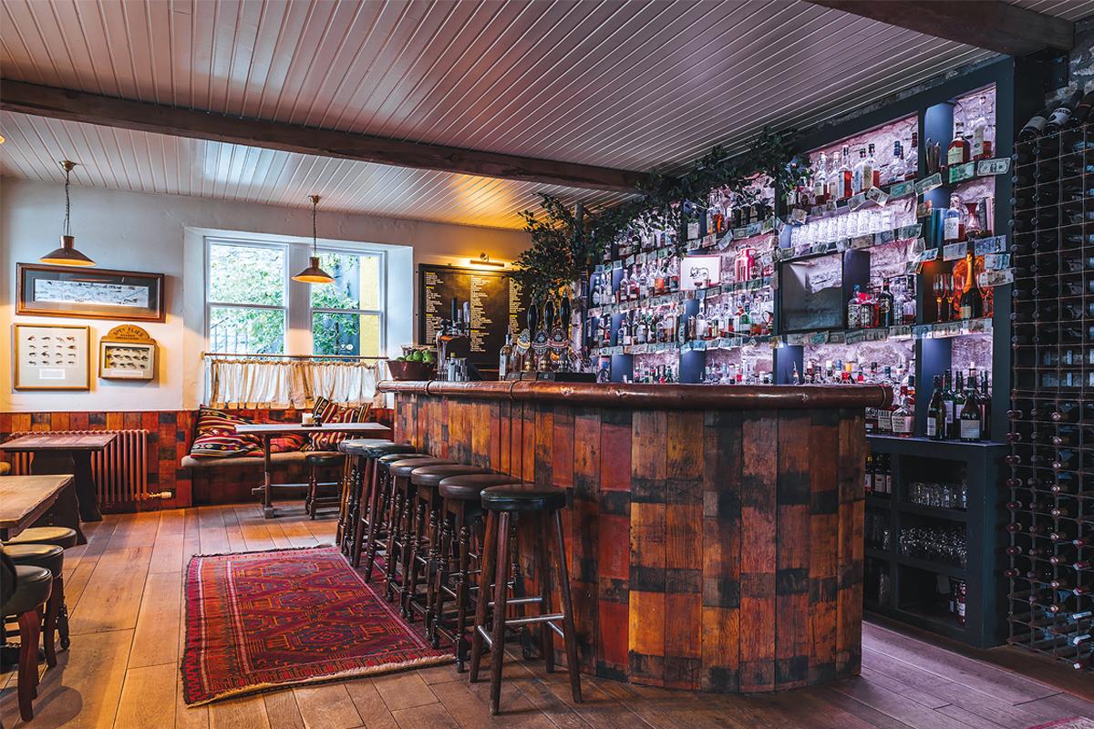 The Craigellachie Hotel bar