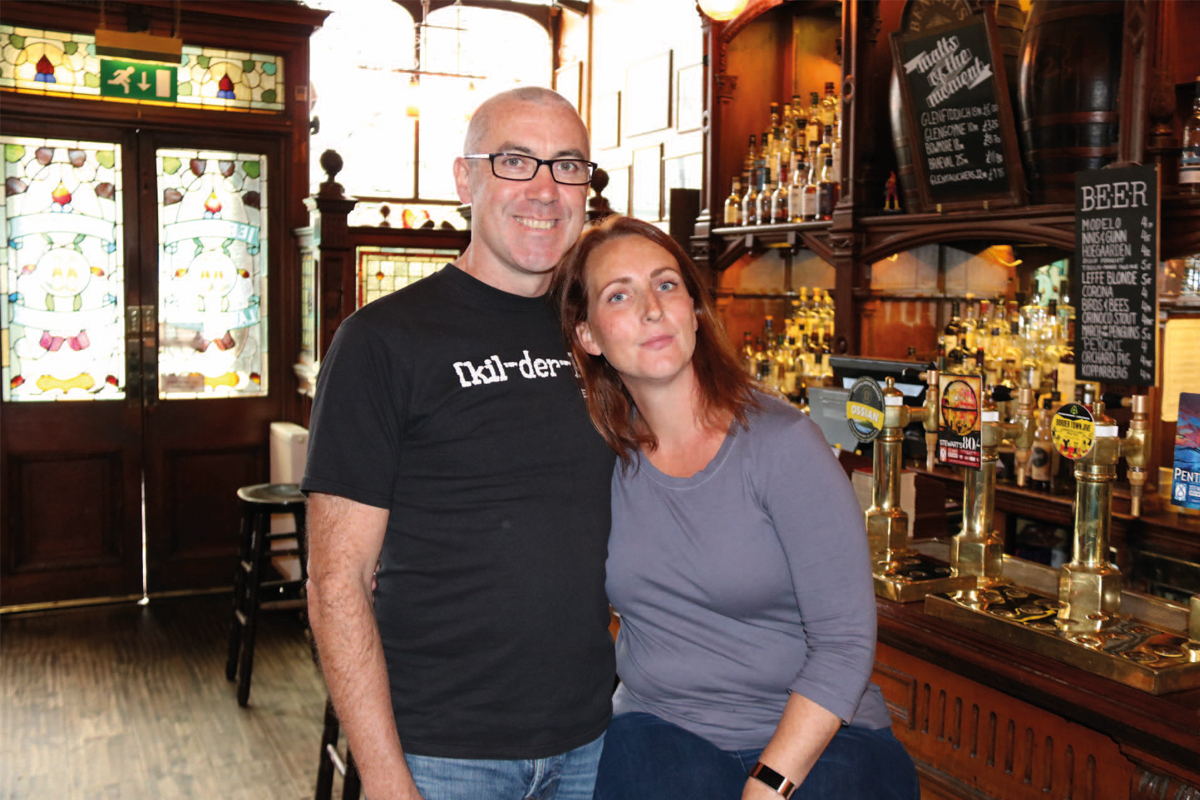 Kilderkin owners James and Jacqueline Nisbet