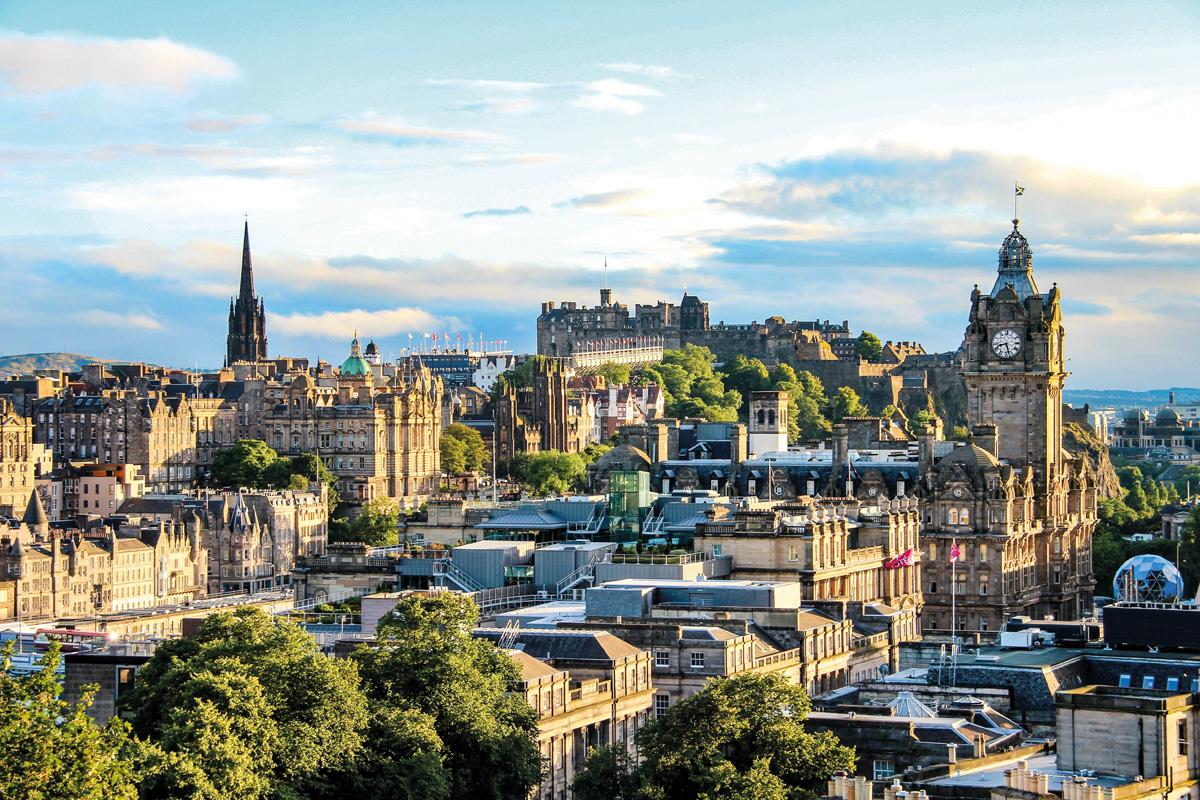 Edinburgh City Cityscape