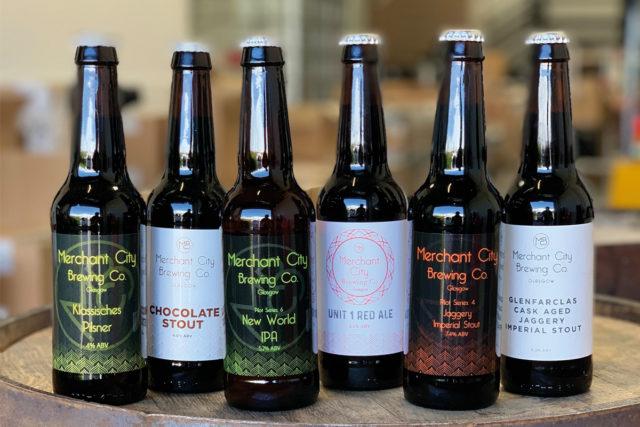 Merchant City Brewing Beers