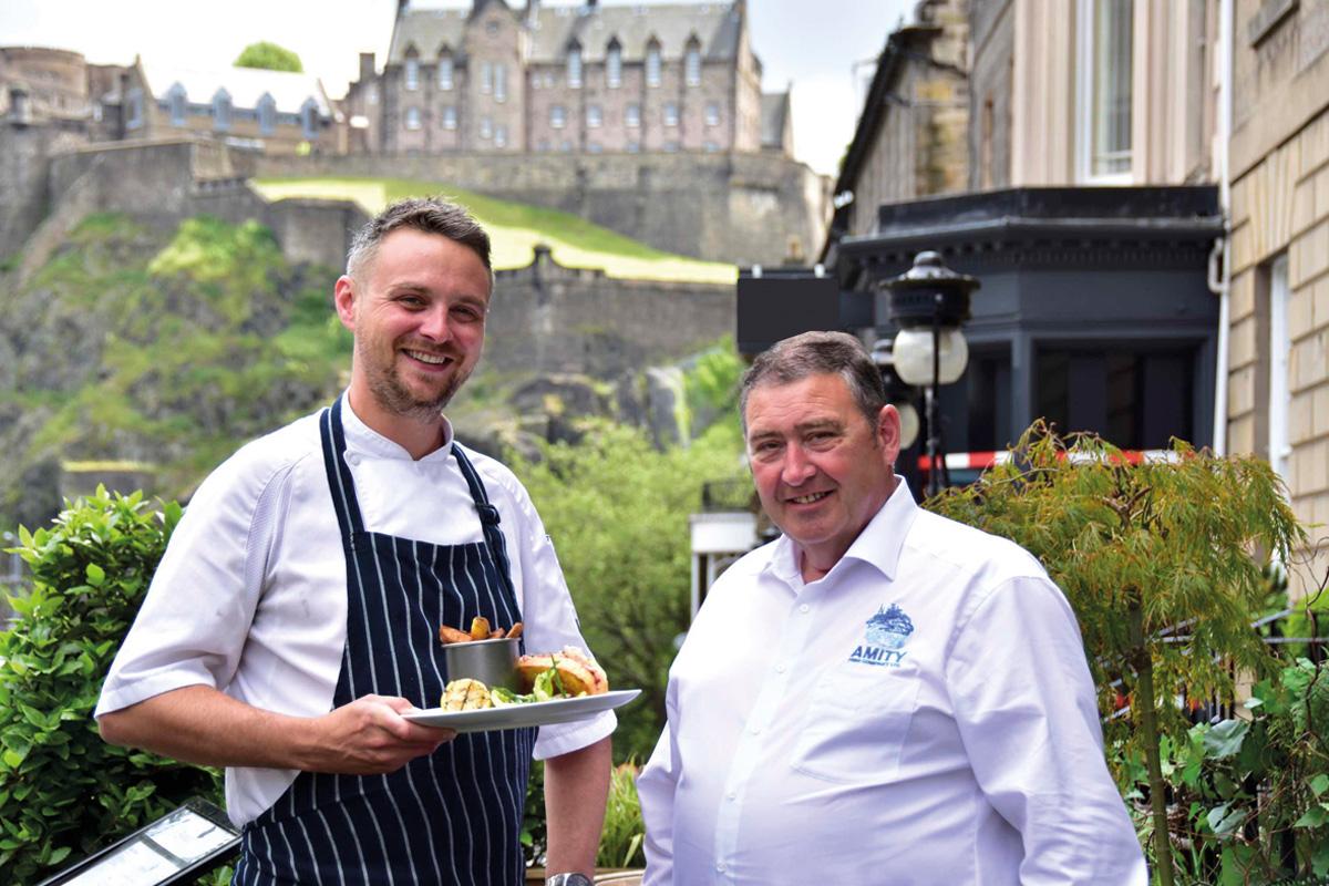 Ross Ingleson & Jimmy Buchan of Signature Pub Group & Amity Fish Company
