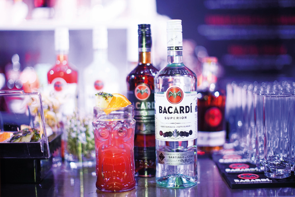 Bacardi drinks