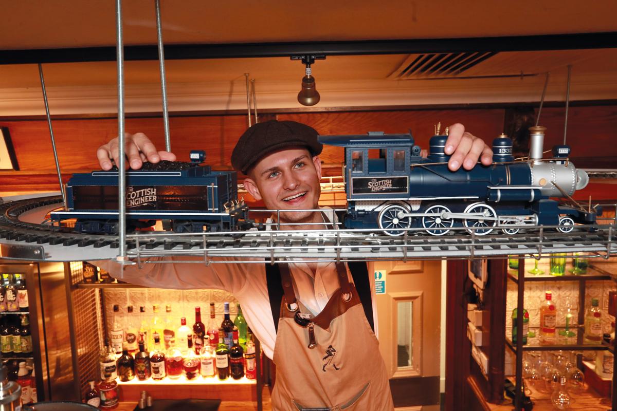 Scottish Engineer Train