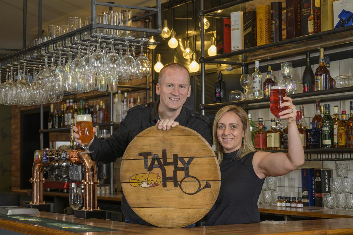 Tally Ho bar Winchburgh