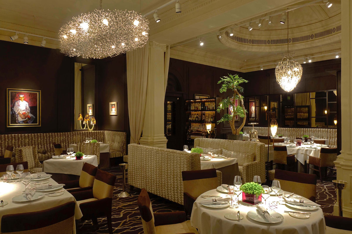 Andrew Fairlie restaurant