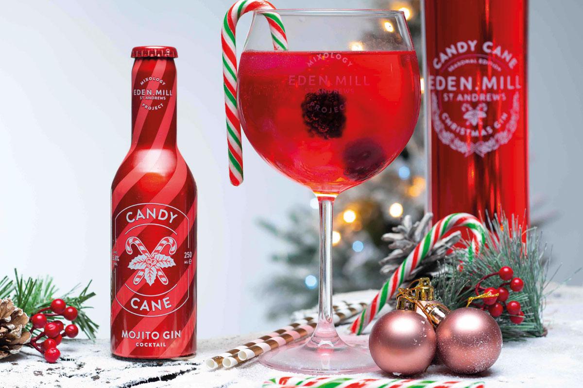 Eden Mill Candy Cane Mojito Gin