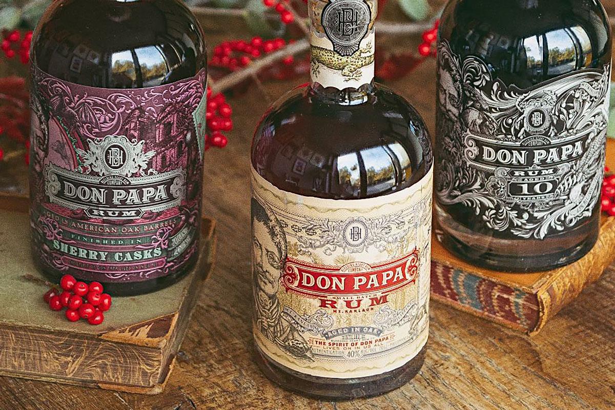 don-papa-rum-bottles