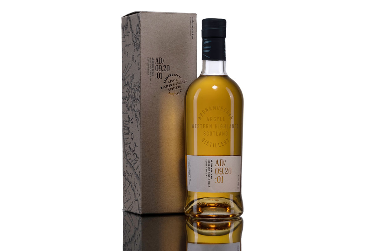 "The Ardnamurchan single malt is described as ""full-flavoured"" and true to its location."