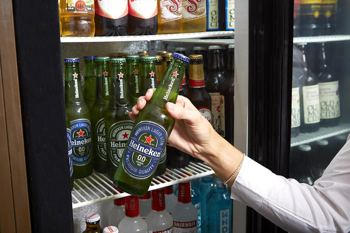 Heineken 0 bottle