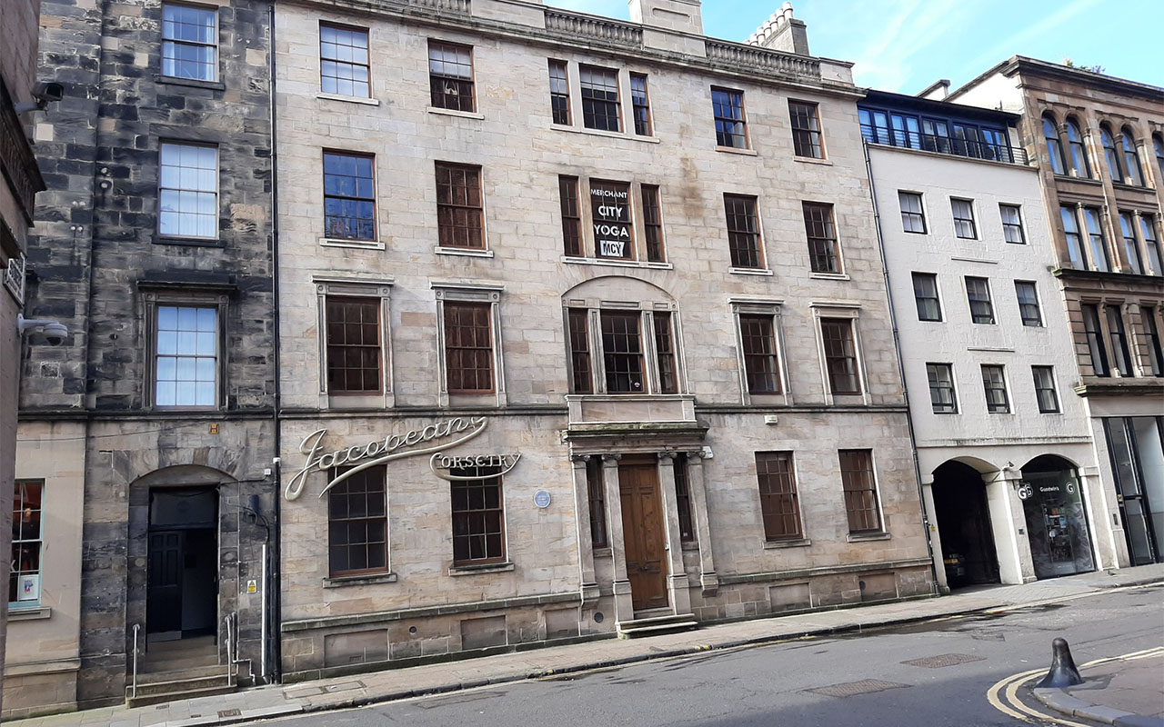 Merchant City Hotel view from street