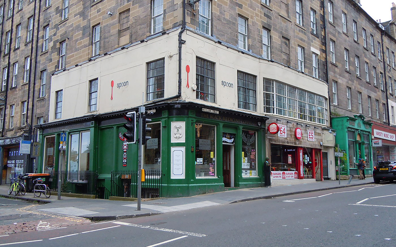 Spoon cafe and bistro exterior